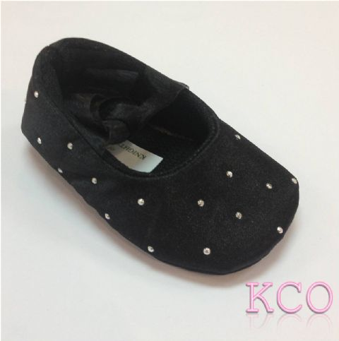 Style FJS017 Black~Girls Shoes